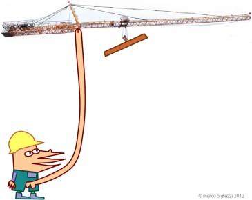 Pypys' tower crane