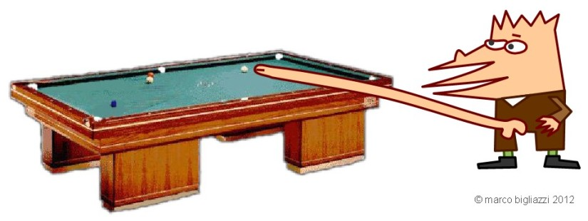 Pypys plays billiard