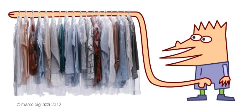 Pypys' wardrobe