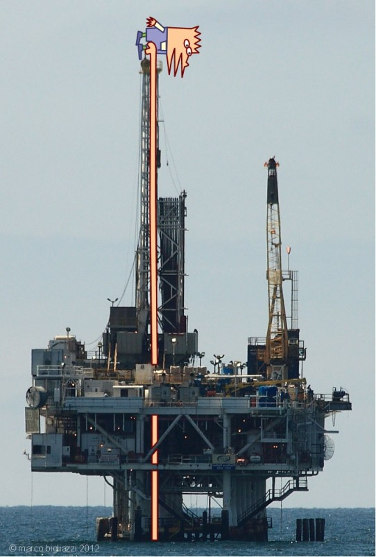 Pypys drilling at sea